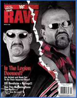 WWF Raw Magazine March 1998