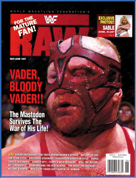 WWF Raw Magazine May / June 1997