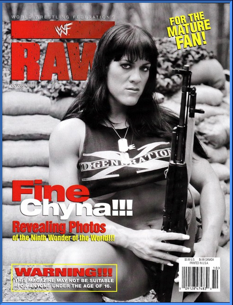 WWF Raw Magazine October 1998 Fine Chyna
