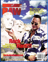 WWF Raw Magazine September 1998 Rock