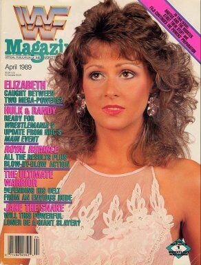 WWF Magazine April 1989 Miss Elizabeth