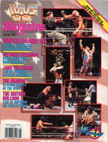 WWF Magazine June 1991 Wrestlemania VII