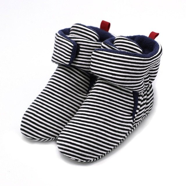 NEW Baby Newborn First Walkers Unisex Cozie Faux Fleece Bootie Winter Warm Infant Toddler Crib Shoes Classic Floor Boys girls