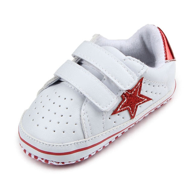 Leather baby boy shoes infant sneaker shoes newborn first walker soft soled toddler footwears for 0 -1year babiesобувь для малыш