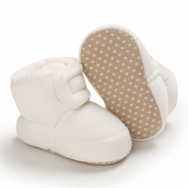 2020 Baby Newborn First Walkers Unisex Cozie Faux Fleece Bootie Winter Warm Infant Toddler Crib Shoes Classic Floor Boys girls