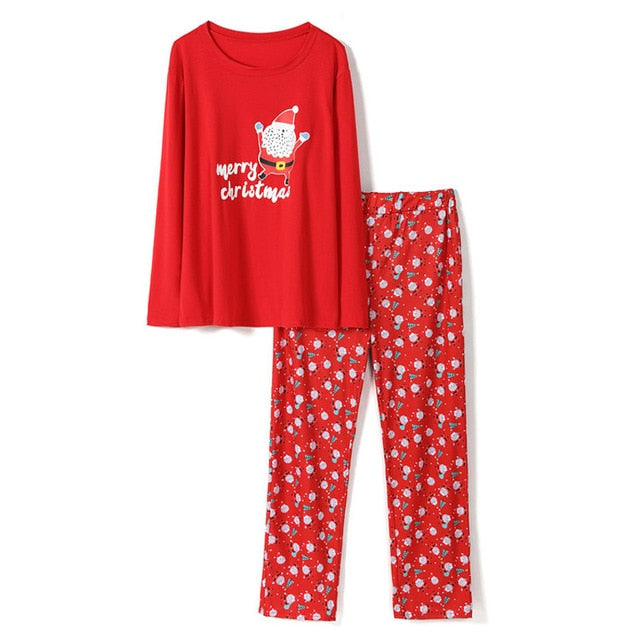 New Year 2020 Family Christmas Pajamas Family Matching Outfit Father Mother Daughter Girl Boy Clothing Sets Pyjamas Family Look