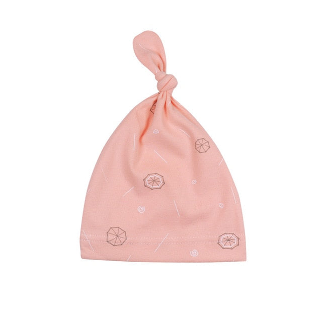 Baby Hat Beanie Boys Infant Hat Newborn Cap Cotton Hats Cute Cartoon Clothing Accesories For Toddler Elastic Infant Cap