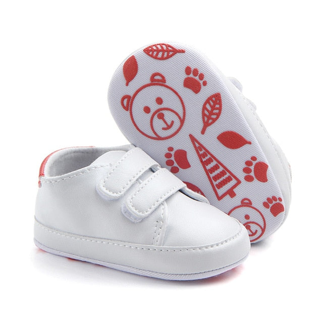 Infant Toddler Baby Boy Girl Soft Sole Crib Shoes Sneaker Newborn to 12 Months Cute Kids First Toddler Spring&Autumn Baby Shoes