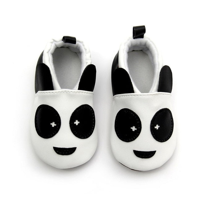 1 Pair Fashion Shoes Cotton Cloth Cartoon Designes for Baby Boy or Girls or Toddler Moccasins 0-24M