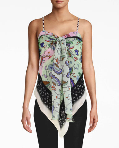Chabana Scarf Scarf Tank In Multicolor