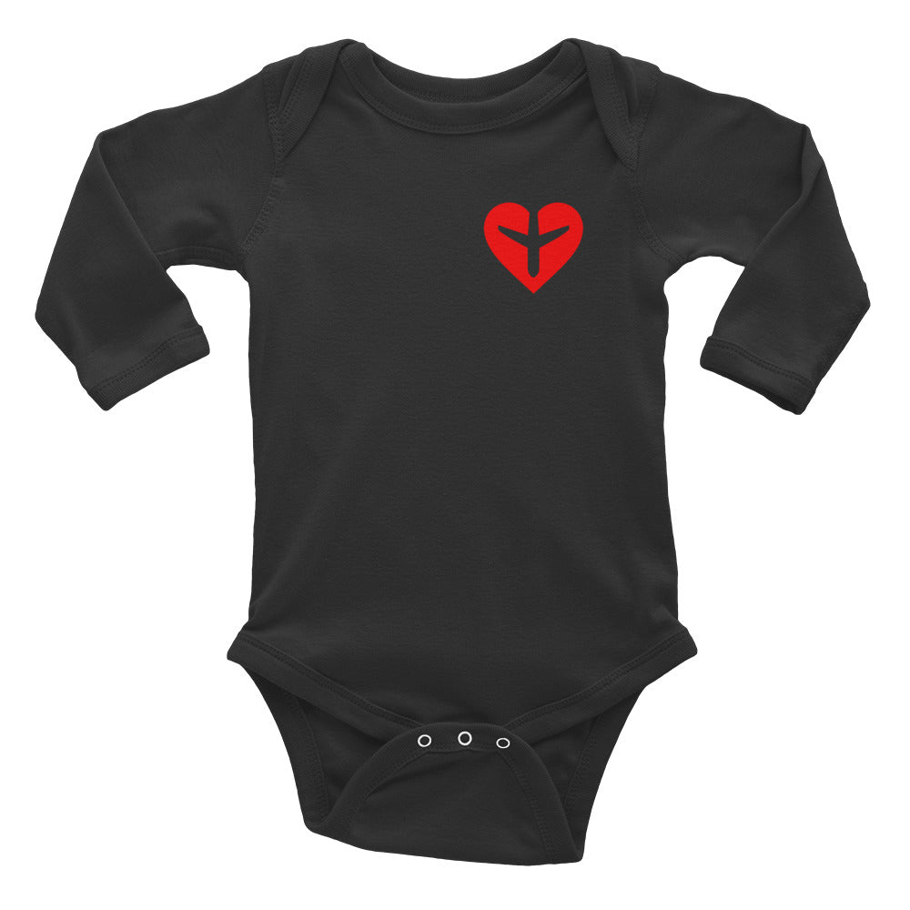 PS752justice | Long Sleeve Onesie (infant)
