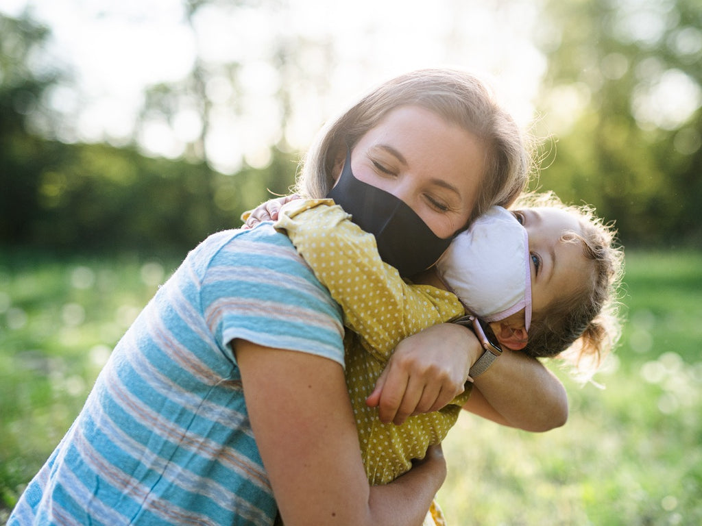 Face masks protect families