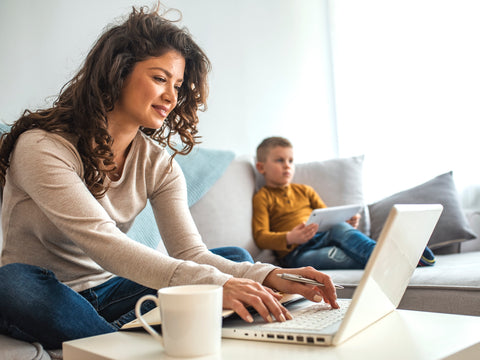 Parents Work From Home During COVID