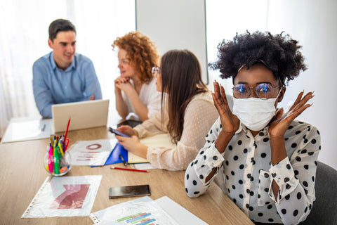 Mask safety in the workplace