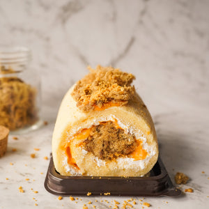 Salted Egg Pork Floss Cake Roll (DELIVERED ONLY ON THURSDAYS, ORDER MUST BE PLACED BY TUESDAY 2PM)