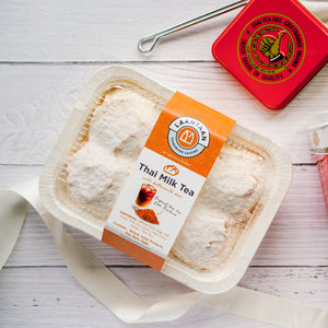 Thai Milk Tea Buttermilk Buns (DELIVERED ONLY ON THURSDAYS, ORDER MUST BE PLACED BY TUESDAY 2PM)