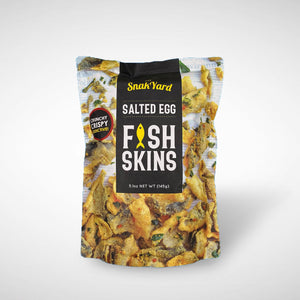 Salted Egg Fish Skins 145g