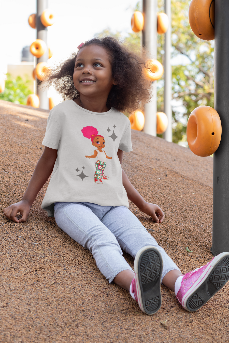 Summer: The Island Girl Toddler Classic T-shirt