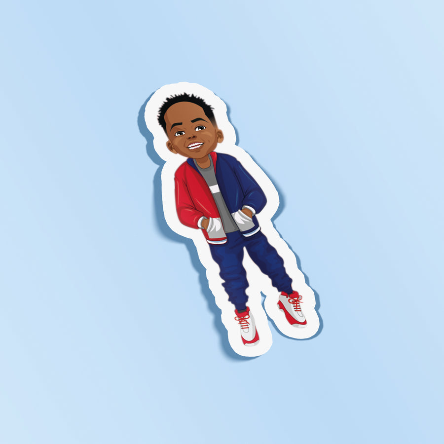 The David Ali Sticker