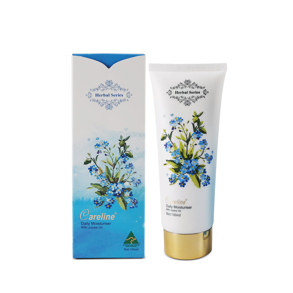 Careline Herbal Series Daily Moisturiser with Jojoba Oil