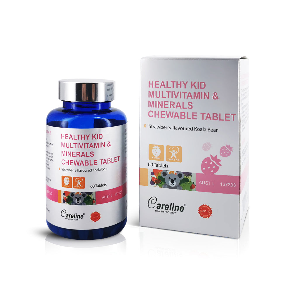 Blue Summit Healthy Kid Multivitamin & Minerals Chewable Tablet