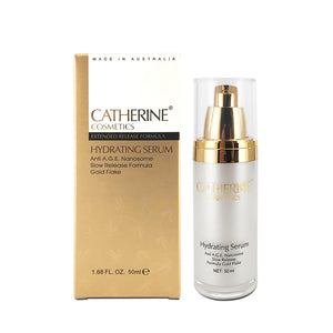 Catherine Cosmetics Hydrating Serum with Gold Flakes