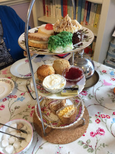 Traditional Afternoon Tea Box - For Collection Saturday 31 October 2020