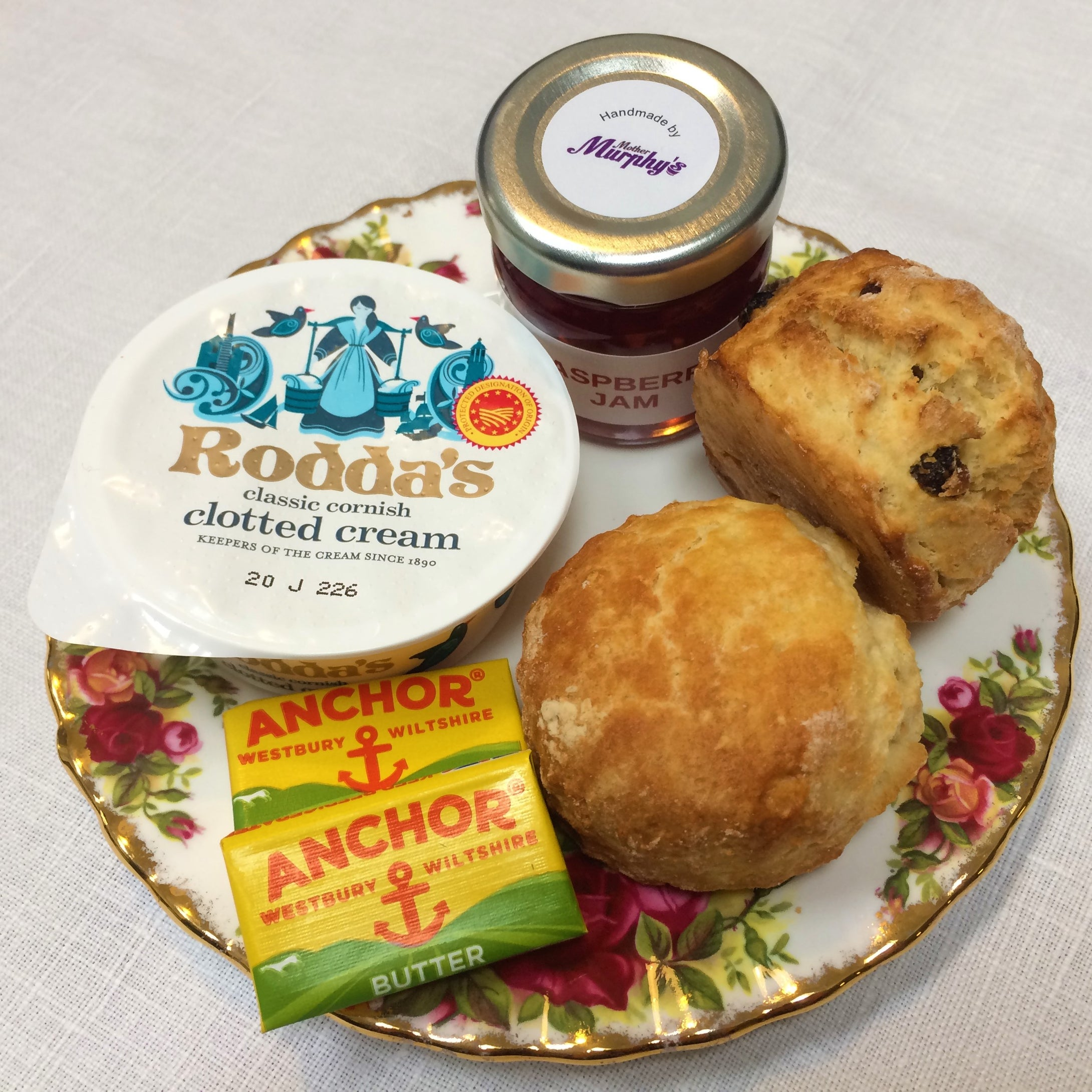 Traditional Afternoon Tea Box - For Collection Saturday 28 November 2020