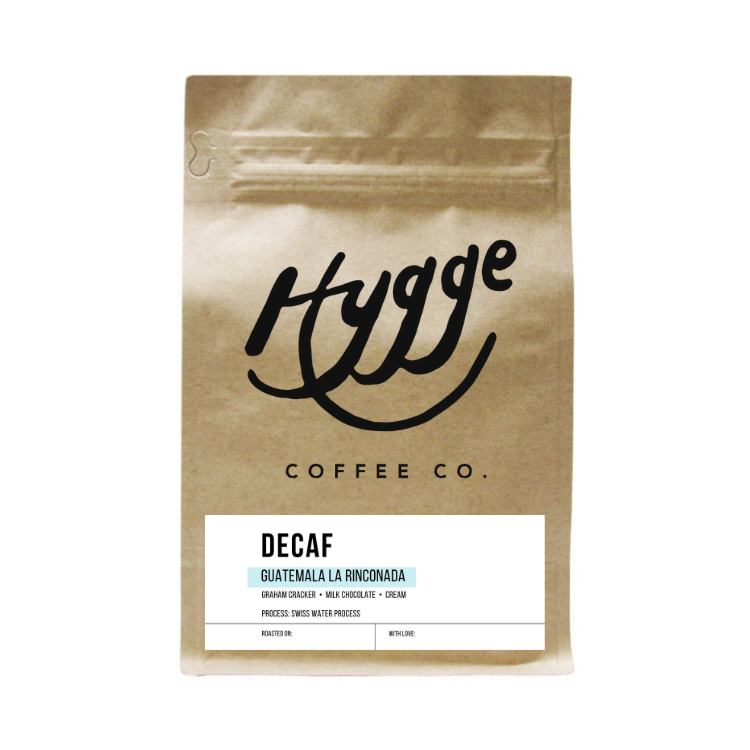 Decaf Specialty Coffee - Guatemala - Hygge Coffee Company | Handcrafted Artisan Coffee Roaster in Missoula, Montana