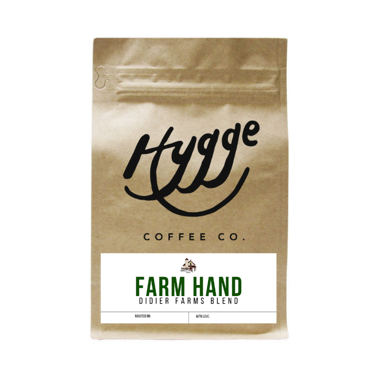 Farmhand Blend - Didier Farms Collaboration - Hygge Coffee Company | Handcrafted Artisan Coffee Roaster in Missoula, Montana