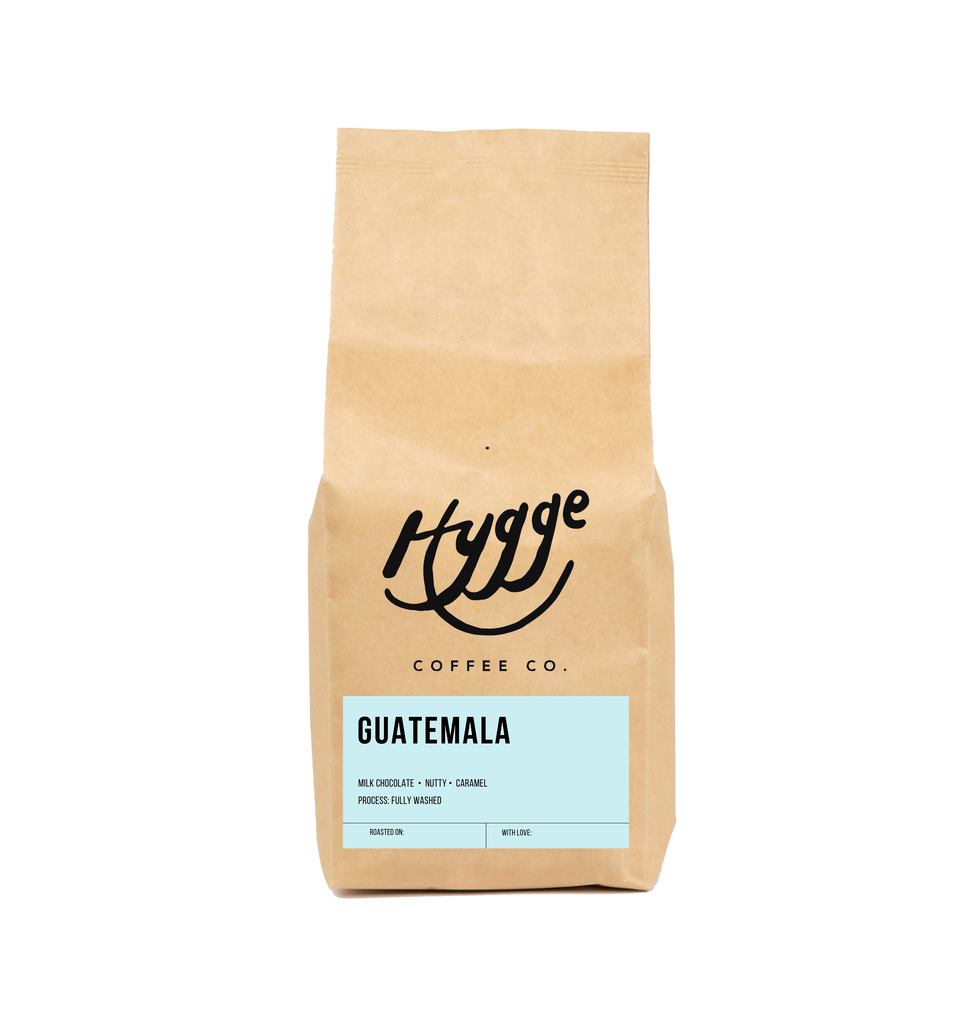 Guatemala Medium Roast Coffee - Hygge Coffee Company // Direct Trade Wholesale and Retail Coffee Roaster in Missoula, Montana