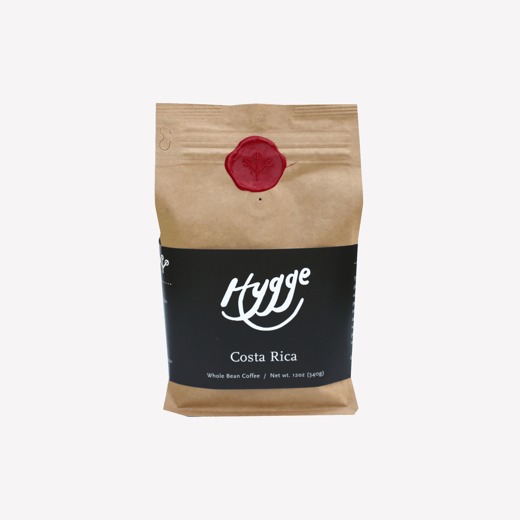 Costa Rica Medium Roast Coffee - Hygge Coffee Company // Direct Trade Wholesale and Retail Coffee Roaster in Missoula, Montana