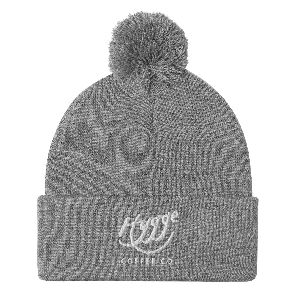 Hygge Coffee Co - Pom-Pom Beanie - Hygge Coffee Company // Direct Trade Wholesale and Retail Coffee Roaster in Missoula, Montana
