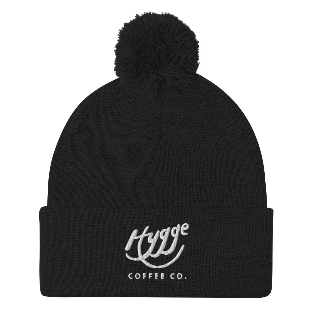 Hygge Coffee Co - Pom-Pom Beanie - Hygge Coffee Company | Handcrafted Artisan Coffee Roaster in Missoula, Montana