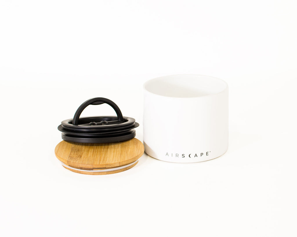 Planetary Design Airscape® Ceramic Canister (small) - Hygge Coffee Company // Direct Trade Wholesale and Retail Coffee Roaster in Missoula, Montana