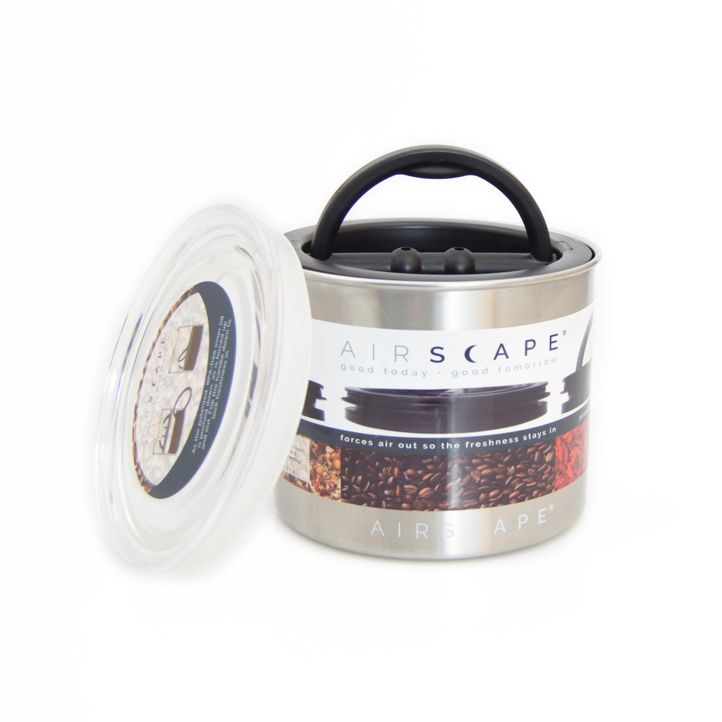 Planetary Design Airscape® Stainless Canister (small) - Hygge Coffee Company | Handcrafted Artisan Coffee Roaster in Missoula, Montana