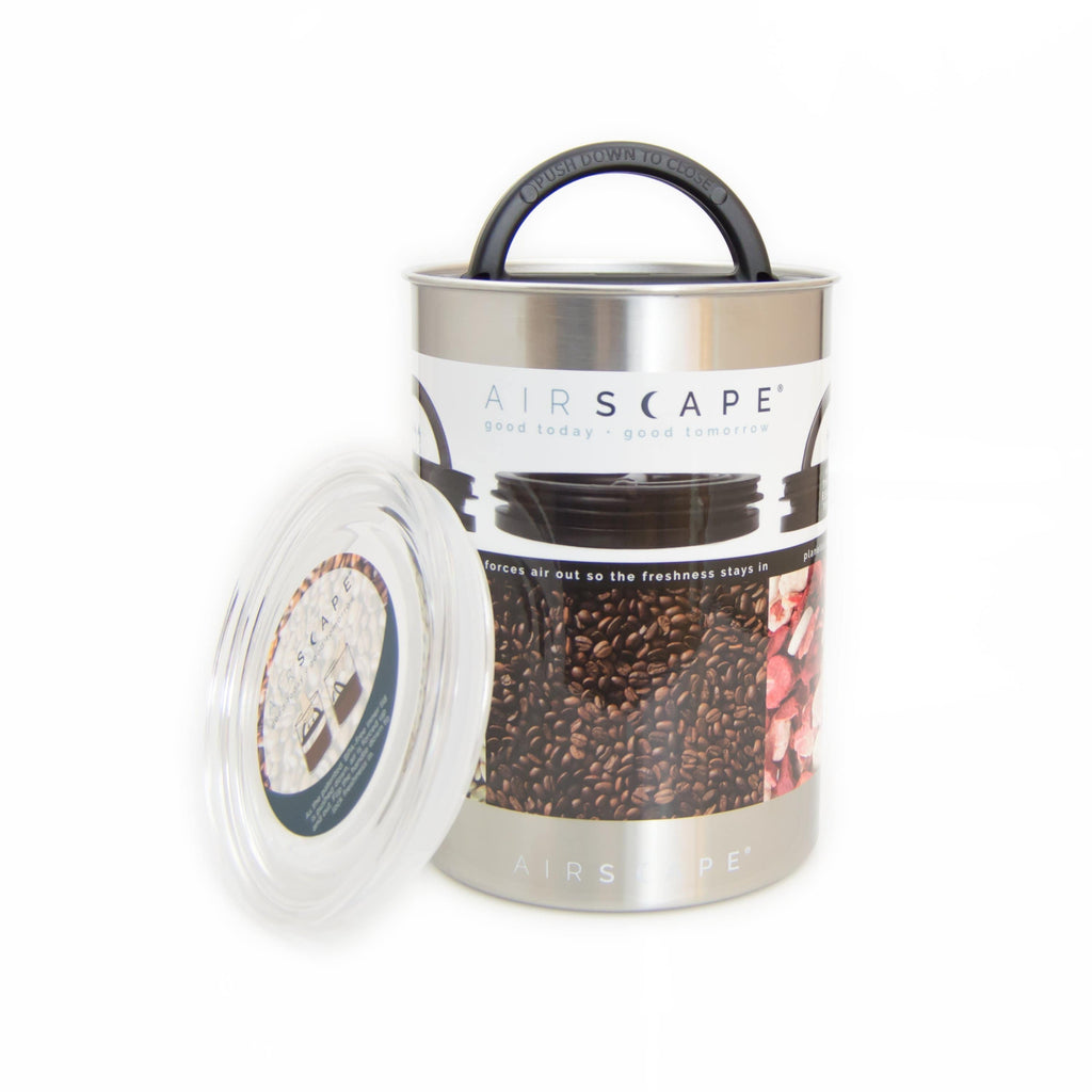 Planetary Design Airscape® Stainless Canister (medium) - Hygge Coffee Company | Handcrafted Artisan Coffee Roaster in Missoula, Montana