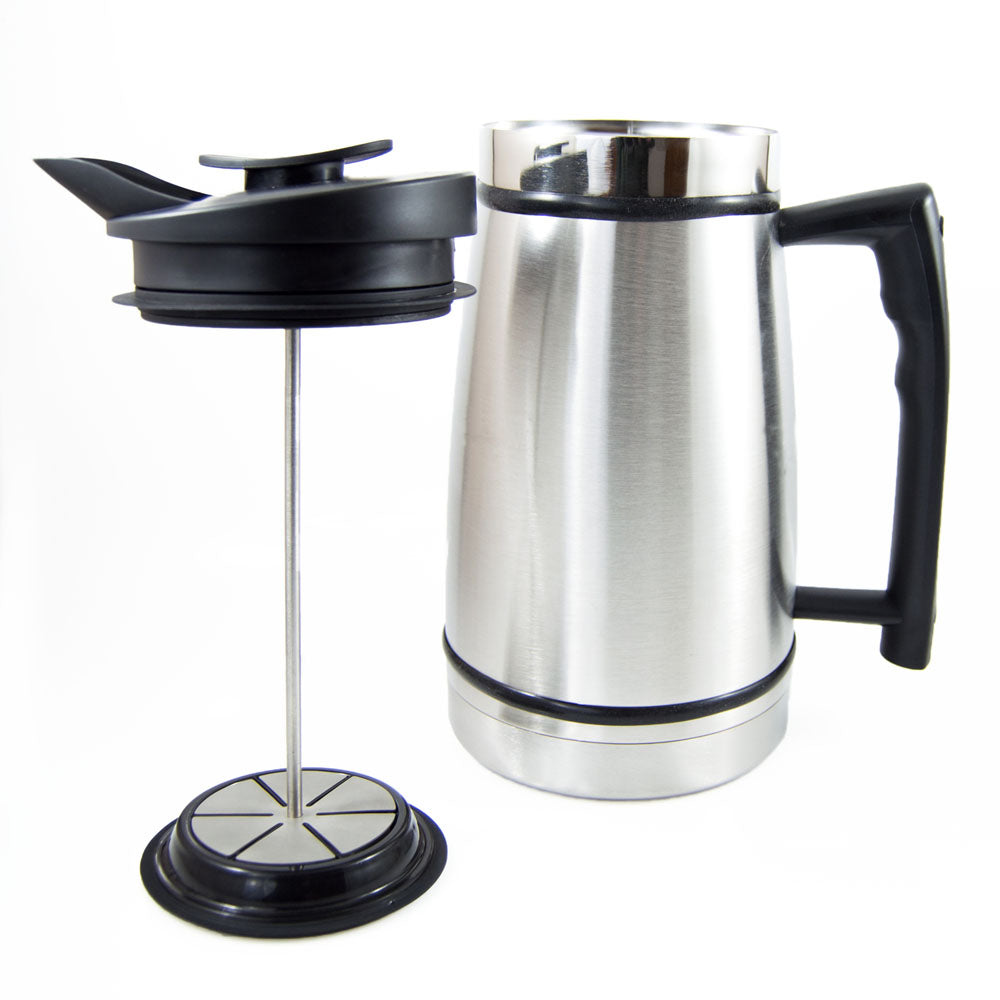 French Press with Bru-Stop™ (48 fl.oz.) - Hygge Coffee Company | Handcrafted Artisan Coffee Roaster in Missoula, Montana