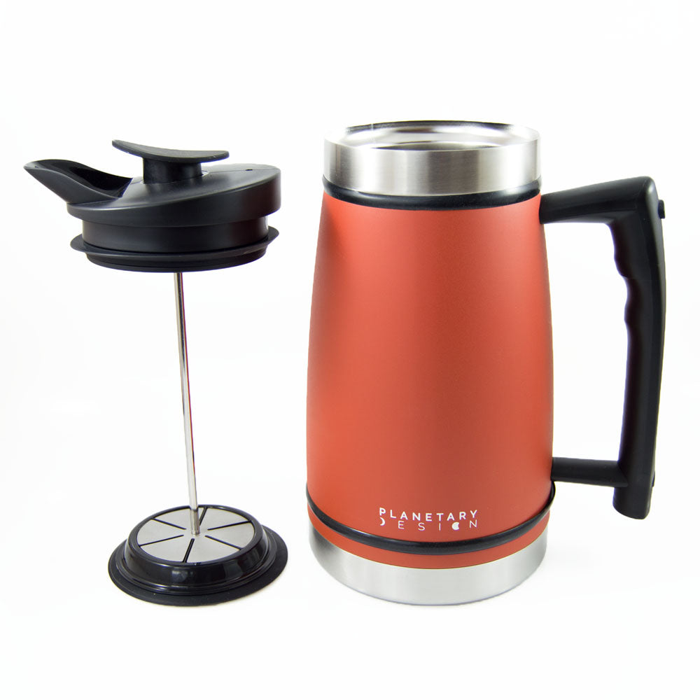 French Press with Bru-Stop™ (48 fl.oz.) - Hygge Coffee Company // Direct Trade Wholesale and Retail Coffee Roaster in Missoula, Montana