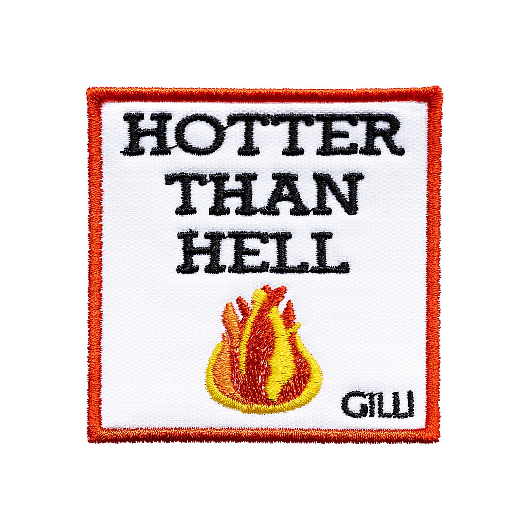 Hotter than hell Patch