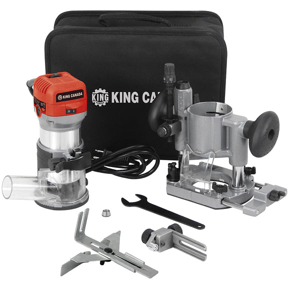 VARIABLE SPEED ROUTER/TRIMMER COMBO KIT