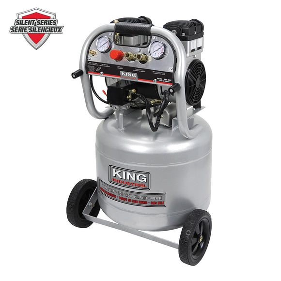 ULTRA-QUIET OIL-FREE AIR COMPRESSOR 10 GALLON