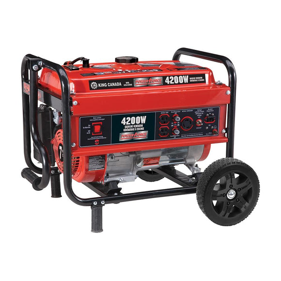 Gasoline Generator With Wheel Kit (Pre-order)