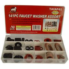Faucet Washer Assortment 141Pc