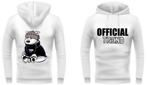 "Official Trend ""White"" Hoodie"