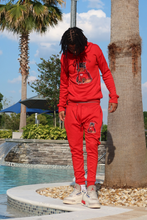 "Load image into Gallery viewer, Official Trend ""Red"" Jogging Suit"
