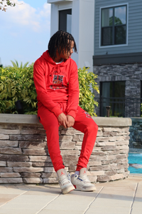 "Official Trend ""Red"" Jogging Suit"