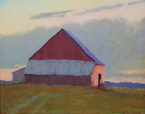 Painting: A New Day Artist: Carol Strock Wasson Medium: Pastel Size: 24
