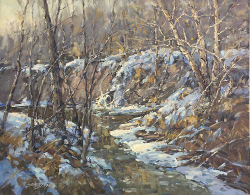 Painting: Black Creek Valley Artist: Jerry Smith Medium: Oil  Size: 24