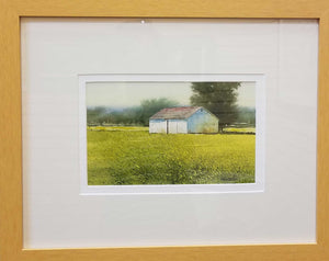 "Painting: Forgotten Farm Artist: Allen Hutton Medium: Watercolor Size: 6"" x 10"""
